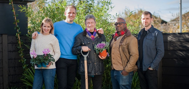 love your home and garden - itv group photo